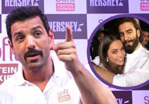 Deepika  Ranveer Wedding: John Abraham ANGRY reaction on DeepVeer Wedding; Watch Video