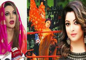 Rakhi Sawant Blames Tanushree Dutta for attack by American wrestler Robel; Watch video