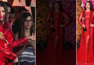 Aishwarya Rai Bachchan DAZZLES in Red gown at Lux Golden Rose Awards 2018; watch Video