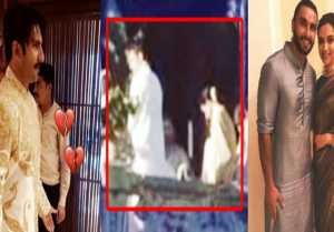Deepika  Ranveer Wedding: Ranveer Singh's FIRST PHOTO as Groom! Check out here