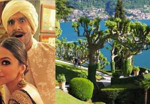 Deepika  Ranveer Wedding: Slight drizzle over Lake Como leads to change in wedding plan