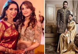 Deepika  Ranveer Reception: Deepika wears her mothers special saree in Reception; Video