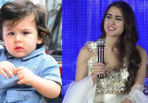 Taimur Ali Khan gives funny nick name to Sara Ali Khan; Check Out