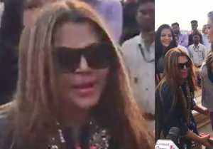 Rakhi Sawant APOLOZISE to wrestler Rebel; Watch video