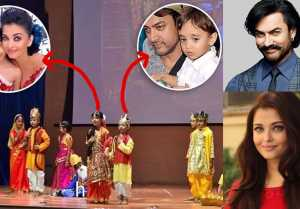 Aaradhya Bachchan & Aamir Khan's son Azad look adorable as Ram and Sita