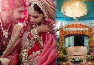 Deepika & Ranveer Wedding: Temporary Gurudwara was made in Lake Como for the Wedding