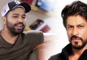 Shahrukh Khan is ready to dance on Kaali Kaali Aankhen For Rohit Sharma
