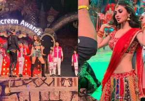 Mouni Roy shares a glimpse from her dance at Star Screen Awards 2018; Watch Video