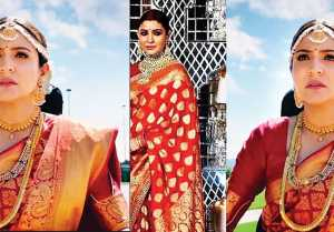 Anushka Sharma wears  her reception Saree again in film Zero; Check Out