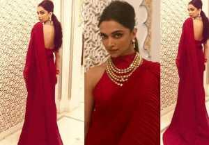 Isha Ambani Wedding: Deepika Padukone looks incredible in Red Saree