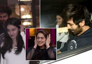 Ananya Pandey enjoys Dinner with Kartik Aryan; Watch video