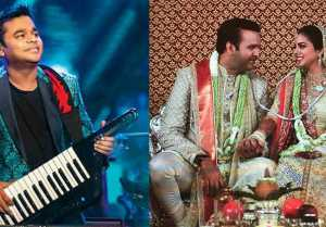 Isha Ambani Wedding : AR Rahman's Special Performance in Reception Party
