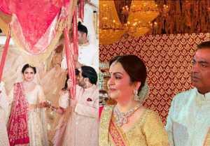 Isha Ambani Wedding: Mukesh Ambani gets emotional; Watch Video