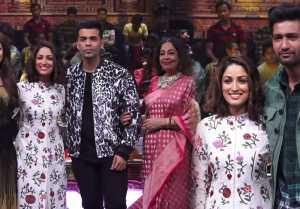 India's Got Talent : Yami Gautam & Vicky Kaushal promte Uri in show; Watch video