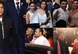 Isha Ambani Wedding UNCUT VIDEO Part  2  Shahrukh  Deepveer  Rekha  Kareena