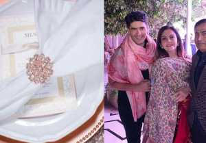 Isha Ambani Wedding: Special Napkins designed by Manish Malhotra