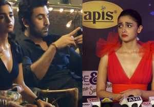 Alia Bhatt reveals the reason why she looked sad with Ranbir Kapoor in viral picture