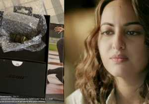 Sonakshi Sinha orders headphones online, receives rusted iron pieces