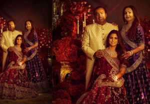 Isha Ambani Mumbai 2nd Reception: Isha in Red lehenga but Ambani Family in Royal look