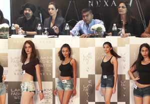 Malaika Arora Khan judging Models at Lakme Fashion Week 2019 Edition Auditions; Watch Video
