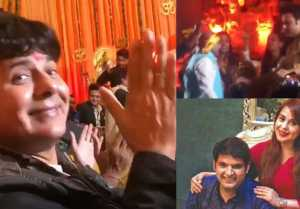 Kapil Sharma  Ginni Wedding: Krushna Abhishek & Sudesh Lehri dance at Mata ki Chowki
