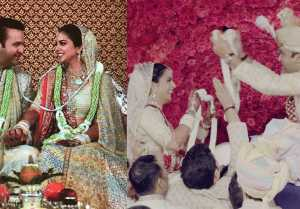 Isha Ambani Wedding: Isha Ambani, Anand Piramal's FunFilled Varmala Ceremony,Watch Video