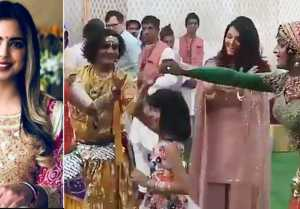 Isha Ambani Wedding: Aishwarya Rai and Aaradhya Bachchan dance