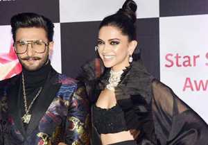 Star Screen Awards 2018: Deepika Padukone & Ranveer Singh look stunning in all black look