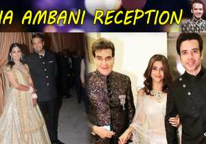 Isha Ambani Reception: Ekta Kapoor arrives with Jitendra & Tusshar Kapoor; Watch Video