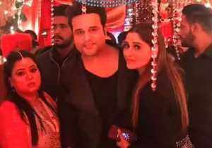 Kapil Sharma  Ginni Wedding: Bharti Singh attends Kapil  Ginni's sangeet