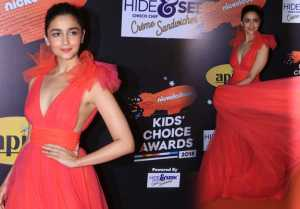 Alia Bhatt shines at Nickelodeon Kid's Awards 2018; Watch video