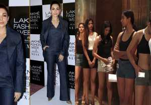Malaika Arora shares Success mantra to models at Lakme Fashion Week Audition