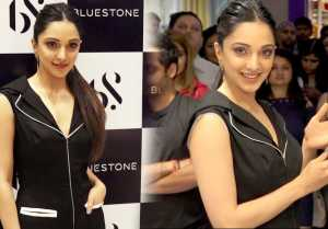 Kiara Advani looks classy at the launch of Bluestone Store