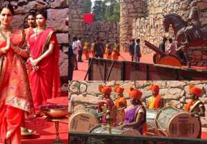 Manikarnika: The Queen of Jhansi Trailer: Huge set has been made of trailer launch