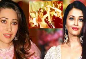 Aishwarya Rai Bachchan & Karisma Kapoor dance together at Isha Ambani wedding