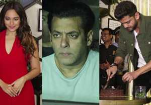 Salman Khan, Sonakshi Sinha, Aayush Sharma attend Zaheer Iqbal's Birthday Party; Video