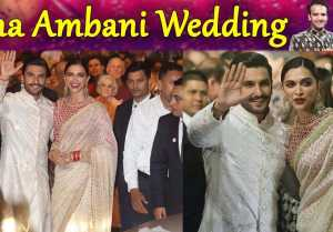 Isha Ambani Wedding: Deepika Padukone & Ranveer Singh's ENTRY stuns everyone; Watch Video