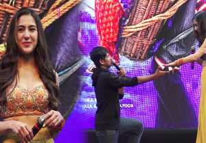 Sara Ali Khan gets lovely Proposal from THIS guy; Watch Video