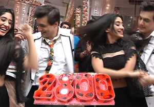 Yeh Rishta Kya Kehlata Hai: Shivangi Joshi and Mohsin dance during celebration of the show