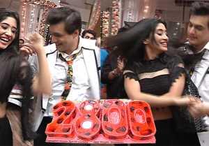 Yeh Rishta Kya Kehlata Hai: Shivangi Joshi and Mohsin dance during celebration of the show