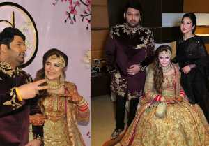 Kapil Sharma Reception : Kapil  Ginny party Look, Watch INSIDE Videos