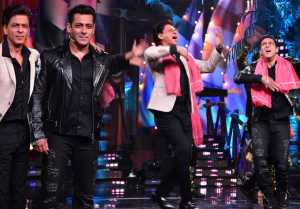 Bigg Boss 12: Salman Khan dances with Shahrukh Khan on Zero's song Ishqbaazi