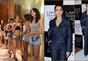Malaika Arora Looks Perfect at Lakme Fashion Week 2019 Edition Auditions