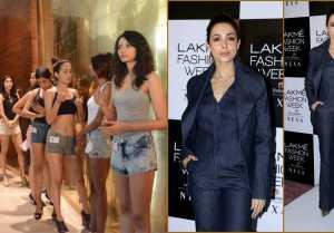 Malaika Arora Looks Perfect at Lakme Fashion Week 2019 Edition Auditions