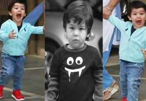 Taimur Ali Khan's Cute Expression in front of Media; Watch video