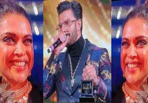 Deepika Padukone cries for Ranveer Singh at Star Screen Awards; Watch Video