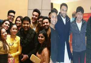 Kapil Sharma Wedding: Krushna Abhishek & Sumona Chakravarti attend prewedding festive