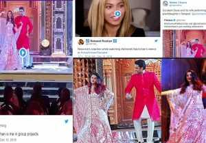 Aishwarya Rai Bachchan & Abhishek Bachchan get trolled for dance