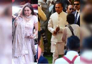Isha Ambani Wedding: Anil Ambani, Tina Ambani welcomes Anand Piramal's Baraat