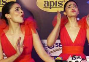 Alia Bhatt gets irritated on her marriage question with Ranbir Kapoor; Watch Video